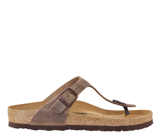 BIRKENSTOCK Gizeh tabacco oiled leather regular 943811 bruin